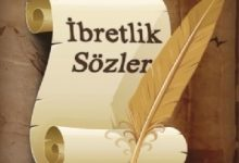 Photo of İBRETLİK SÖZLER -5-